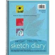 "Pacon® Art1st® 8 1/2"" x 11"" Sketch Diary, 70 Sheets/Pk (PAC4794)"