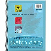 "Pacon® Art1st® 8 1/2"" x 11"" Sketch Diary, 70 Sheets/Pk (PAC4794)"