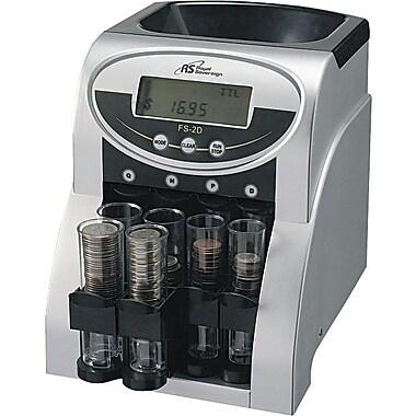 Royal Sovereign Digital Row Coin Sorter, Penny, Nickel, Dime, Quarter (FS-2D)