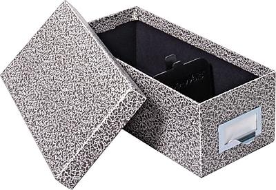 Globe-Weis® Fiberboard Index Card Storage Box, 5x8