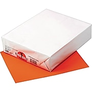 """Pacon Kaleidoscope Multipurpose Colored Paper, Pumpkin, 8 1/2"""" x 11"""", LETTER-size, 500 Sheets/Rm"""