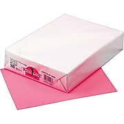 """Pacon Kaleidoscope Multipurpose Colored Paper, Hyper Pink, 8 1/2"""" x 11"""", LETTER-size, 500 Sheets/Rm"""