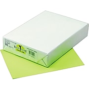 """Pacon Kaleidoscope Multipurpose Colored Paper, Hyper Lime, 8 1/2"""" x 11"""", LETTER-size, 500 Sheets/Rm"""