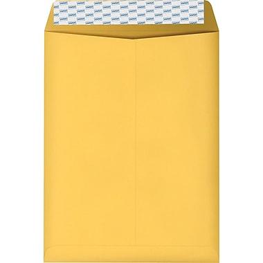 Staples Brown Kraft EasyClose Catalog Envelopes, 10