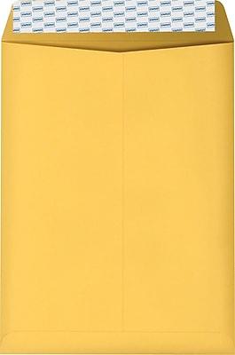 Staples EasyClose Kraft Catalog Envelopes, 9
