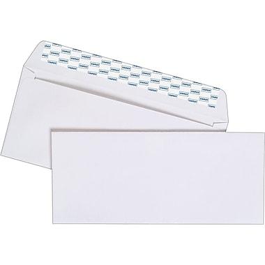 Staples EasyClose Laser and Inkjet #10 Envelopes, 100/Box (394047)