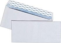 Staples EasyClose Security Tint #10 Envelope, 4-1/8' x 9-1/2', White, 500/Box (787385)