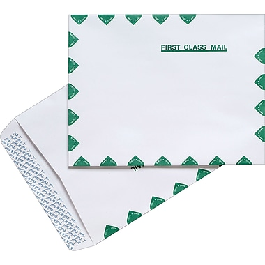 Staples® First-Class EasyClose Catalog Envelopes, 10