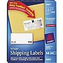 Avery® White Inkjet Shipping Labels with TrueBlock™