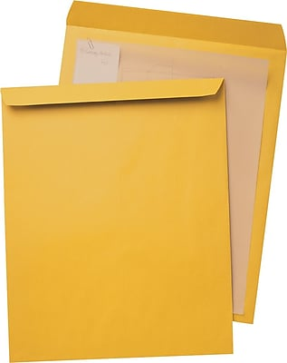 Quality Park® Jumbo Brown-Kraft Envelopes, 12-1/2x18-1/2