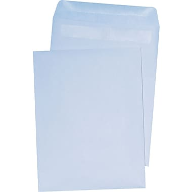 Staples Self-Sealing Wove Catalog Envelopes, 6