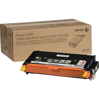 Xerox Phaser 6280 Yellow Toner Cartridge (106R01390)