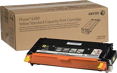 Xerox Phaser 6280 Yellow Toner Cartridge (106R01390)