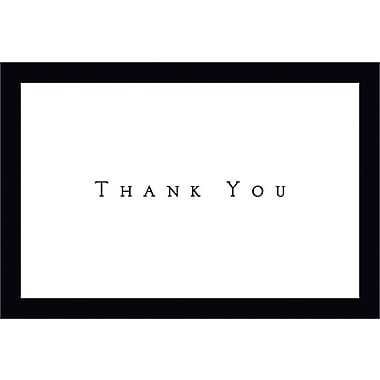 Great Papers® Tuxedo Black Thank You Note Cards with Envelopes, 50/Pack