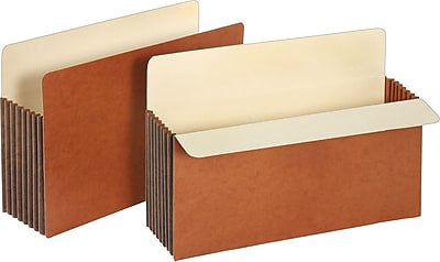 Staples Expanding File Pocket with Tyvek Reinforcement 7