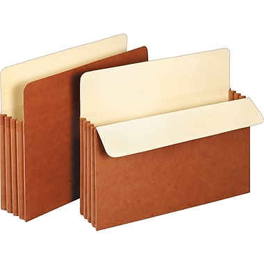 Staples Expanding File Pockets, 3 1/2