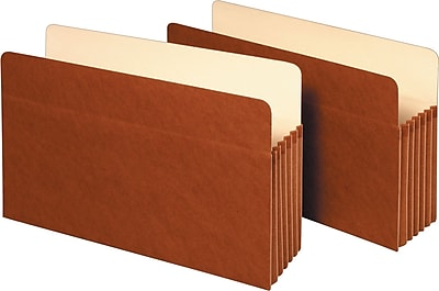 Staples Expanding File Pockets, 5 1/4