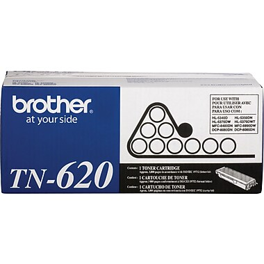 Brother TN-620 Toner Cartridge, Black