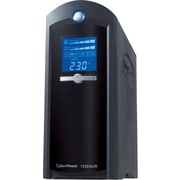 CyberPower CP1350AVRLCD 1350VA 810W UPS Mini-Tower Battery Backup & Surge Protection with 8 Outlets & LCD Screen