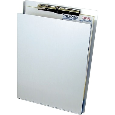 Clipboard w/ Writing Plate, Letter/A4 8.5 X 12 paper size, Serrated Clip (CB8512)