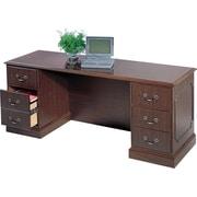 HON® 94000 Series, Kneespace Credenza, Mahogany