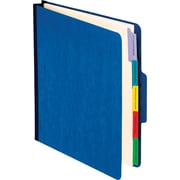 Oxford Personnel Folders, Vertical Style, Blue