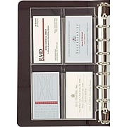 Day-Timer Personal Organizer Refills, Desk-Size, Business/Credit Card Holder