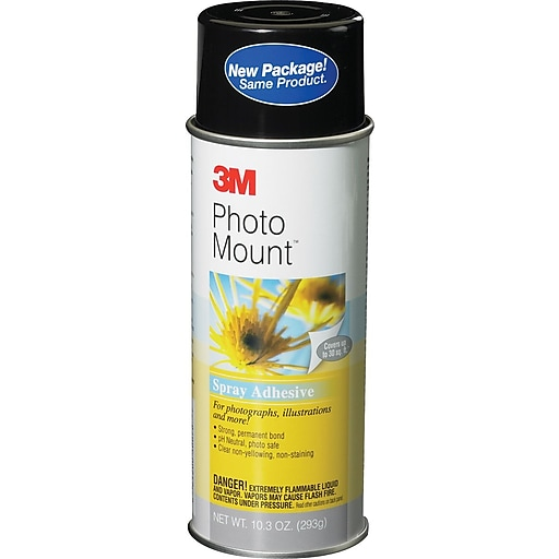 3m Photo Mount Spray Adhesive Staples
