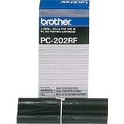 Brother PC202 Fax Ribbon Refill Roll, Dual Pack (PC202RF)