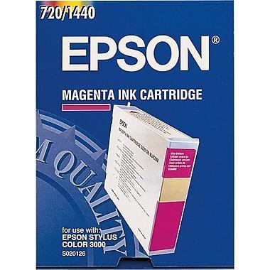 Epson® – Cartouche d'encre magenta, S020126