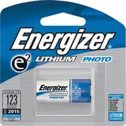Energizer® e² Lithium Photo Battery, 123, 3V, Each