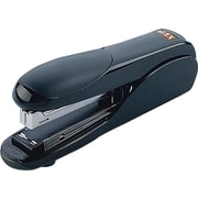 Max Flat Clinch Standard Stapler, Fastening Capacity 25 Sheets/20 lb., Black