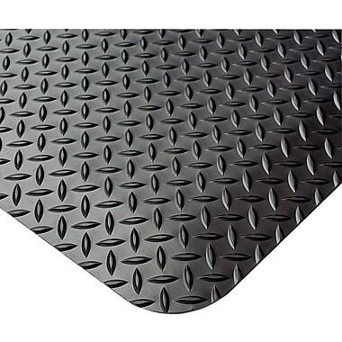 Crown Anti-Fatigue Floor Mat, Black, 36