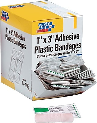 First Aid Only® Plastic Adhesive Refill Bandages 1