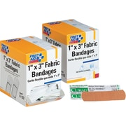 "First Aid Only® Fabric Refill Bandages 1"" x 3"""