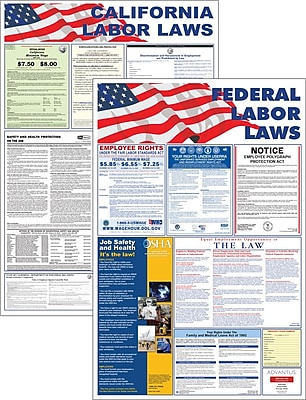 Advantus State and Federal Labor Law Posters, 36