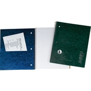 """TOPS® JammIt™ Pocket Cover Wirebound Notebook, 11"""" x 9"""", College Ruling, 100 sheets"""