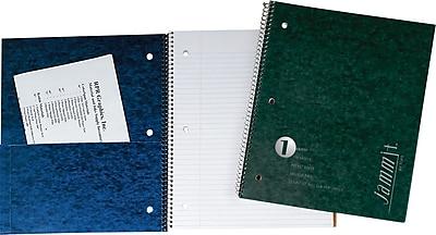 TOPS® JammIt™ Pocket Cover Wirebound Notebook, 11