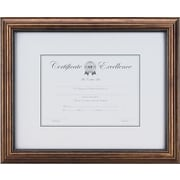 "Staples® Glass Frame with Antique Bronze Finish, 8 1/2"" x 11"""