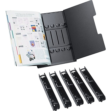 Tarifold Catalog Rack Starter Set, Black, 8