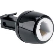 Softalk® Telephone Cord Detangler, Black