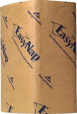 EasyNap® Brown Embossed Dispenser Napkins, 6,000/Case