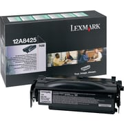 Lexmark 12A8425 Black Return Program Toner Cartridge, High-Yield (12A8425)