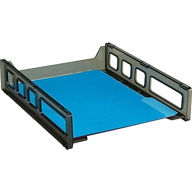 Staples Contemporary Stacking Front-Load Letter Tray (DPS03550)