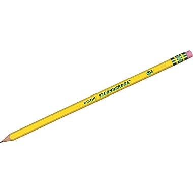 Dixon Ticonderoga® Pre-sharpened Pencils, #2 Soft, Dozen