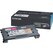 Lexmark C500H2MG Magenta Toner Cartridge, High Yield (C500H2MG)
