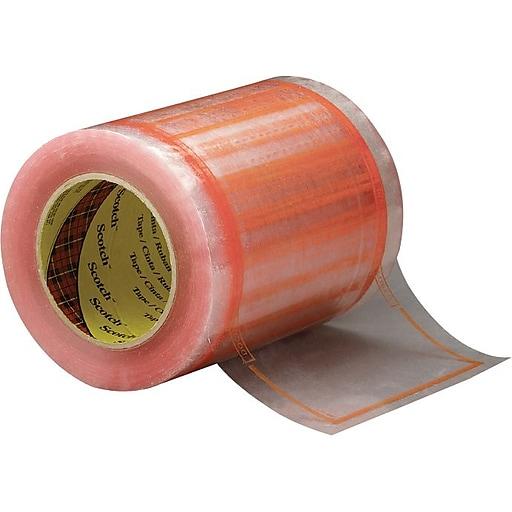 """Scotch® Pouch Tape, 5""""W x 6""""W, 500 Pouches Roll (8240)"""