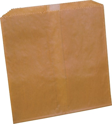 Impact Midland Kraft, Waxed Disposal Liners, 500/Ct