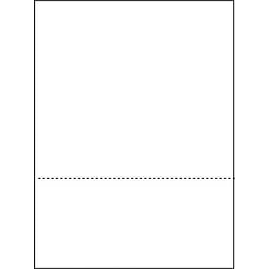 Domtar® Custom-Perforated Sheet, 8 1/2