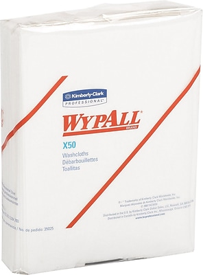 Kimberly-Clark WypAll X50 Wipers, 32/Case 815482